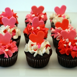 ... Mini Valentineu0027s Day Cupcakes