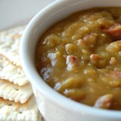Split Pea Soup in a Crock Pot
