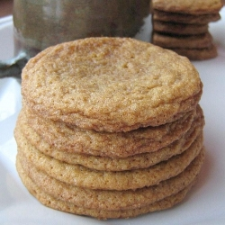 Soft Ginger Maple Cookies