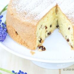 Rum Raisin Sponge Cake