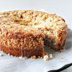 Vegan Almond Flax Coffee Cake Foodgawker