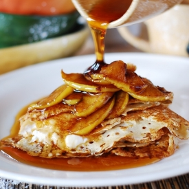 Russian food recipes gallery foodgawker crepes with caramelized apples forumfinder Choice Image