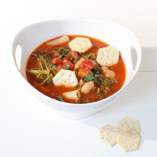 weeknight minestrone soup foodgawker