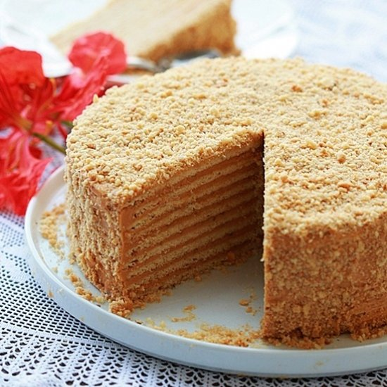 Honey Cake Recipe — Dishmaps