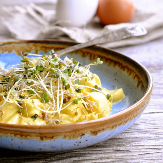 Healty dinner recipes gallery foodgawker egg salad with mustard sprouts forumfinder Gallery