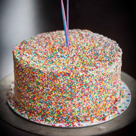 Hundreds And Thousands Layer Cake