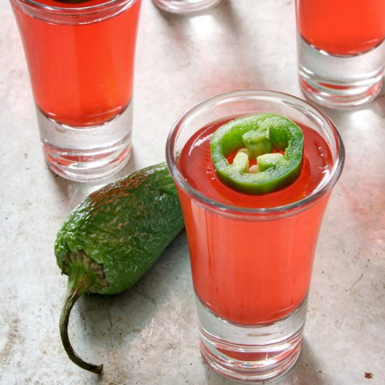 Strawberry Jalapeno Jello S