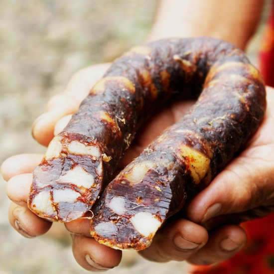 ... Homemade Spanish Chorizo Sausage