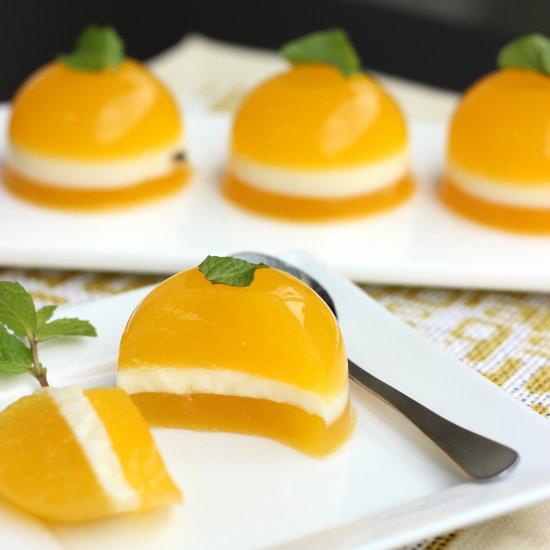 tangerine agar agar - Chinese New Year Desserts