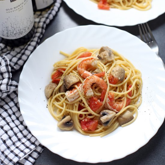 search results for 'shrimp and mushroom pasta'   foodgawker