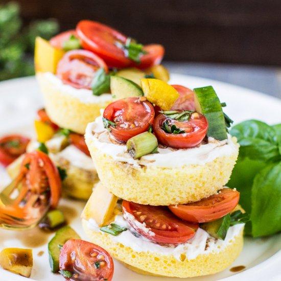 Wonderful ... Cornbread Shortcakes With Tomatoes Images