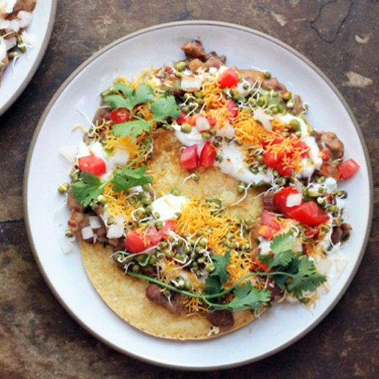 Chaat Tostadas Seven Spoons Cookbook Abcds Of Cooking