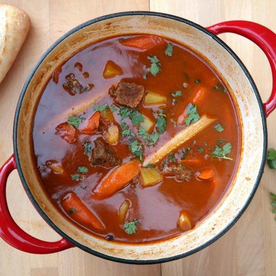 Vietnamese Beef Stew (Bò Kho) Recipe #SundaySupper - I'm Not