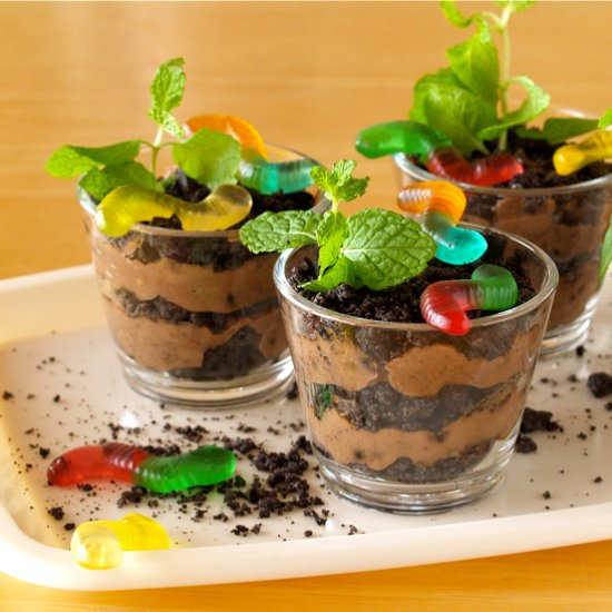 Dirt Cups With Worms Foodgawker