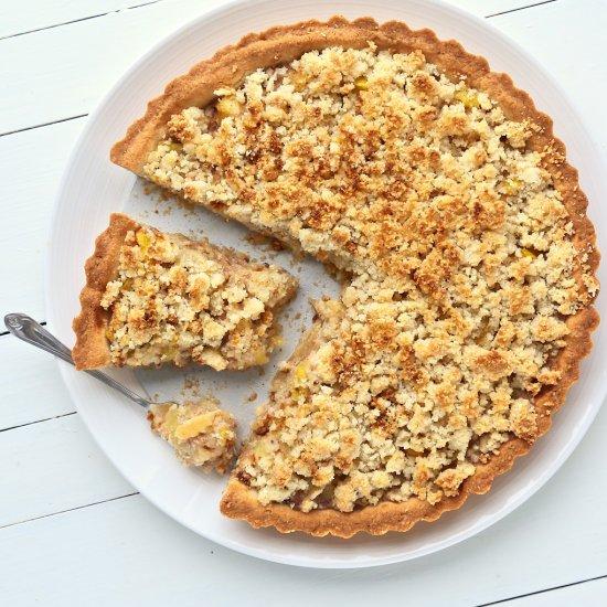 recipe: zucchini apple pie. [33]