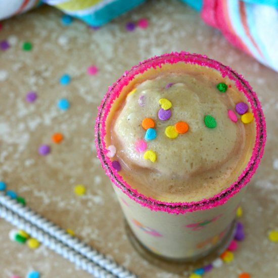 Healthy Birthday Cake Protein Smoothie Blendtec Giveaway