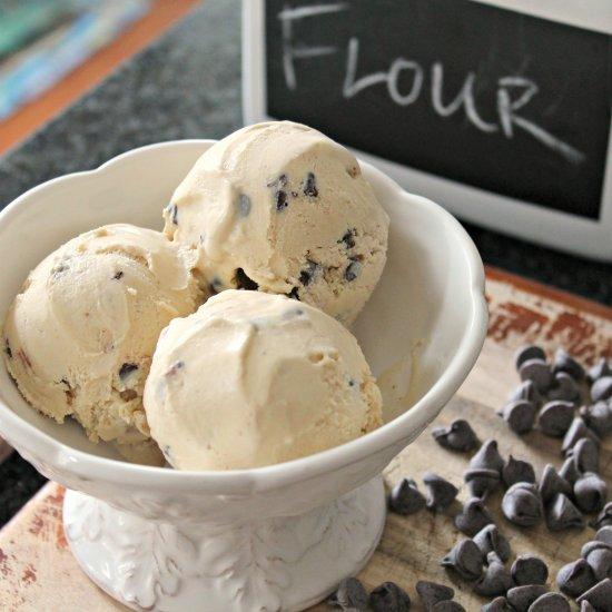 ... Homemade Cookie Dough Ice Cream
