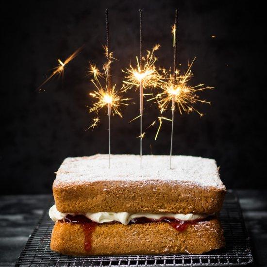 Victorian Sponge Cake Gluten Free