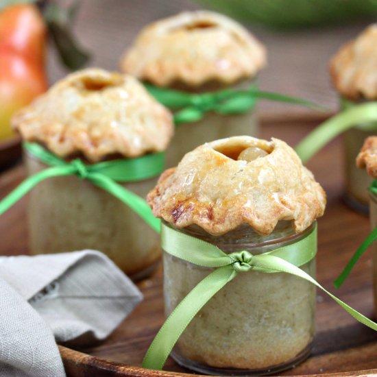 Pear Pie In A Jar