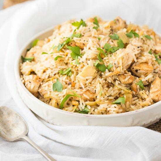Chicken & Artichoke Rice