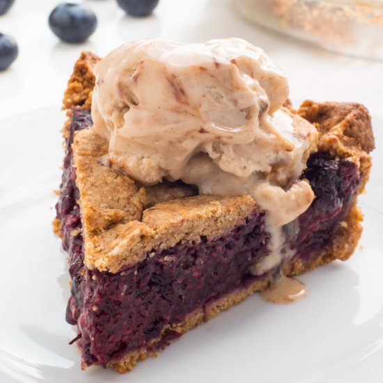 Berry Pie with Sugar Cookie Crust