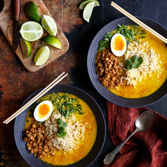 Thai Coconut Curry Ramen