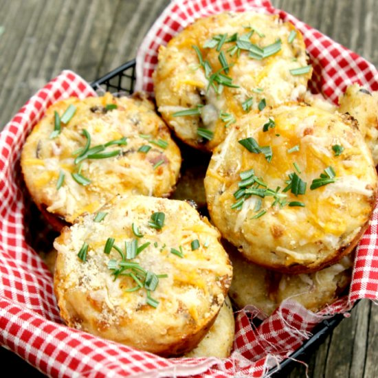... Savory Cottage Cheese Muffins