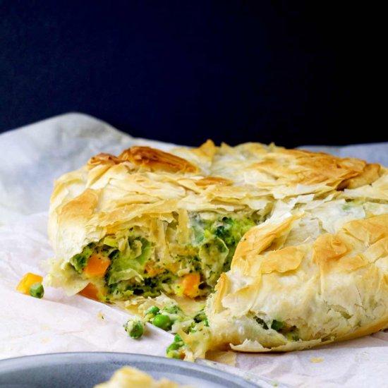 Healthy Vegetarian Pot Pie