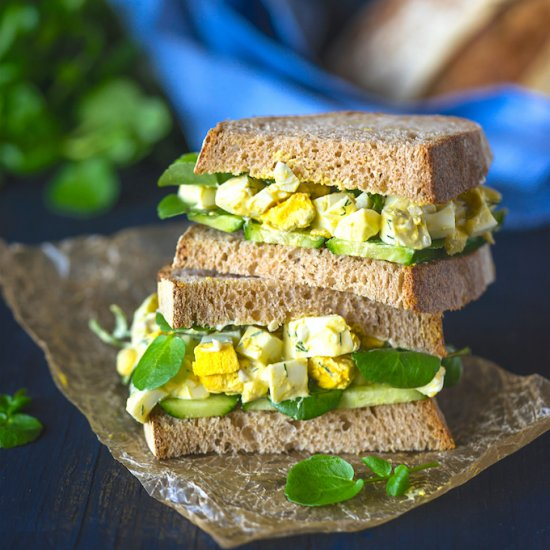 Egg salad sandwich gallery foodgawker delicious egg salad sandwich forumfinder Image collections
