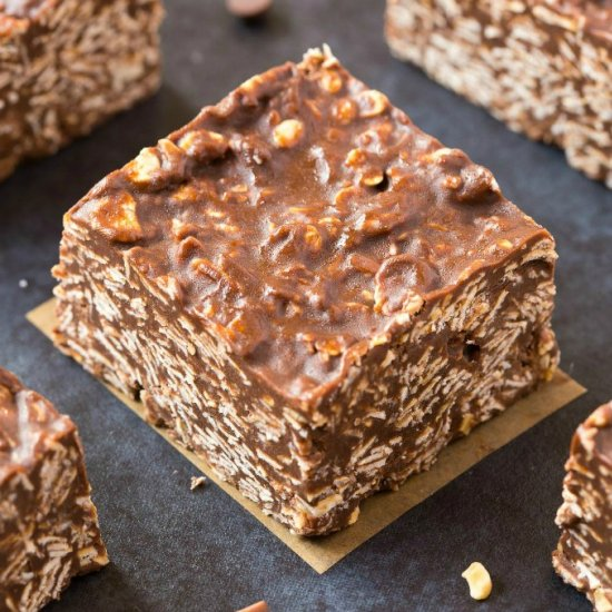 No Bake Chewy Bars