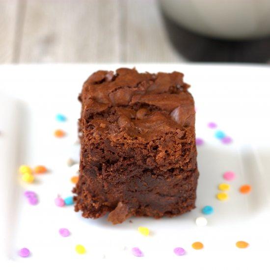 High Altitude Gluten Free Brownies