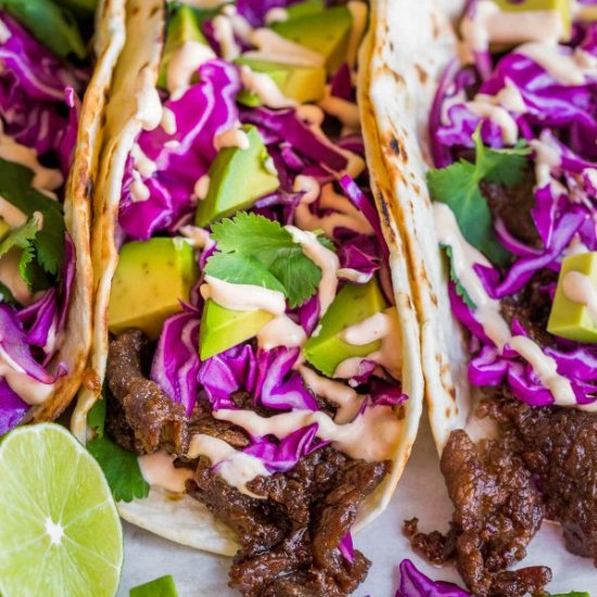 Korean Beef Tacos (Bulgogi) Recipe