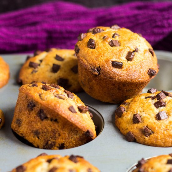 Favourite Chocolate Chip Muffins