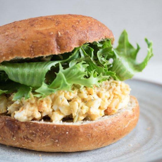 Easy egg salad bagel sandwich foodgawker easy egg salad bagel sandwich forumfinder Image collections