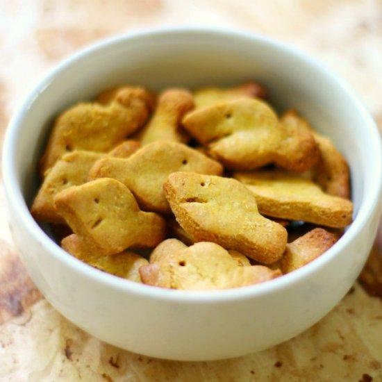 homemade gluten-free/vegan goldfish   foodgawker