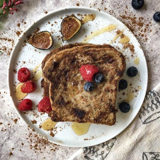 Egg-Free French Toast