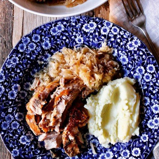 Sunday dinner gallery foodgawker braised pork and sauerkraut forumfinder Images