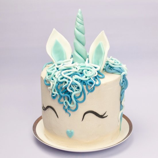 Teal Sheet Birthday Cakes