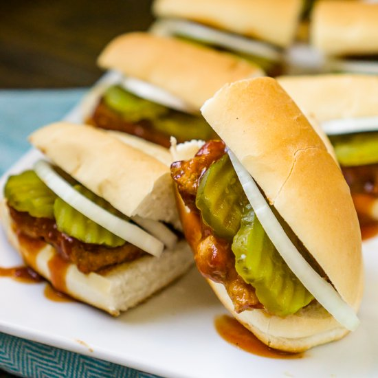 Easy dinner recipe gallery foodgawker copy cat mcrib sandwich forumfinder Images