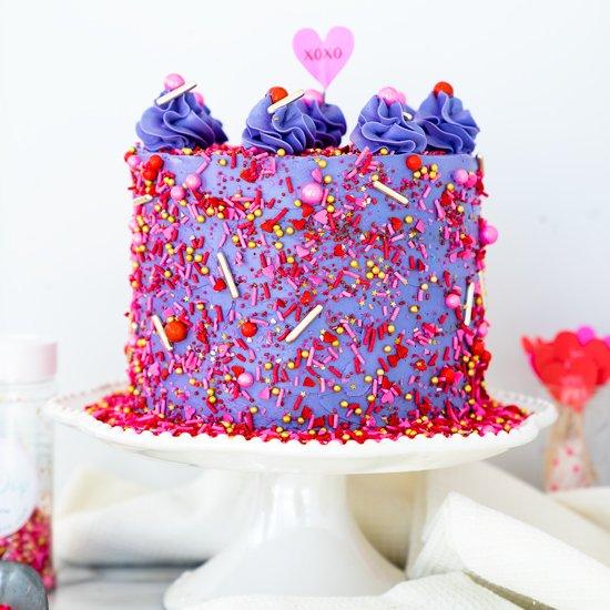 Valentines Red Velvet Cake