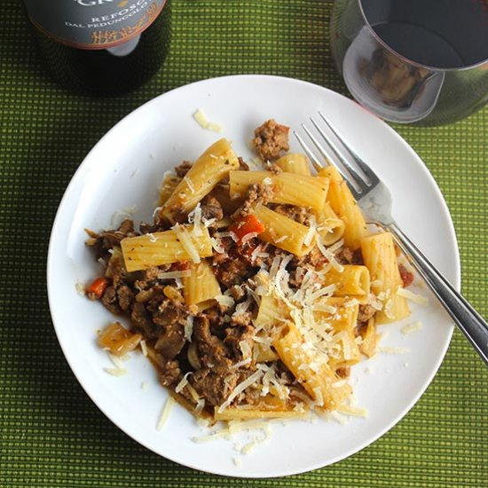 Ground turkey gallery foodgawker turkey bolognese with porcini forumfinder Images