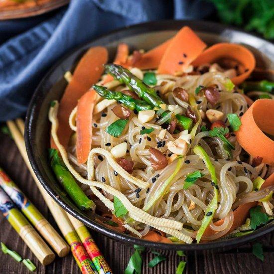 Vegan gallery foodgawker vegan korean glass noodle stir fry forumfinder Gallery