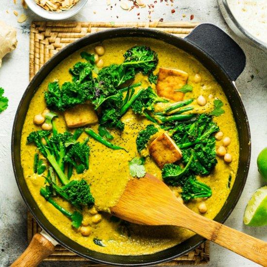 Vegan gallery foodgawker tofu korma with greens forumfinder Gallery