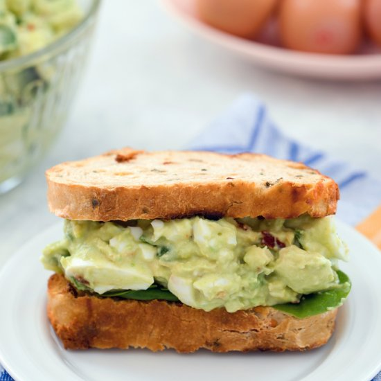 Egg salad gallery foodgawker avocado egg salad with spinach forumfinder Image collections