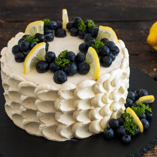 Blueberry Lemon Cake Home Cooking Adventure