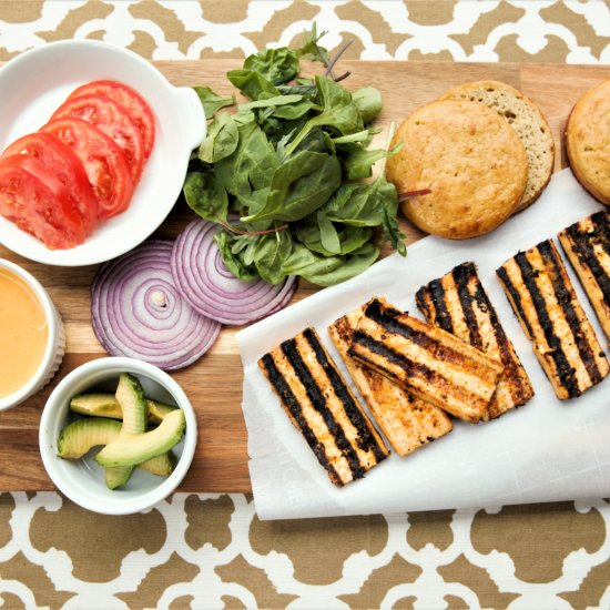 Vegan gallery foodgawker grilled chipotle tofu sandwich forumfinder Image collections