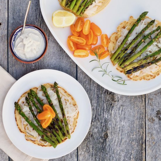 Vegetarian gallery foodgawker rosemary grilled asparagus socca forumfinder Gallery