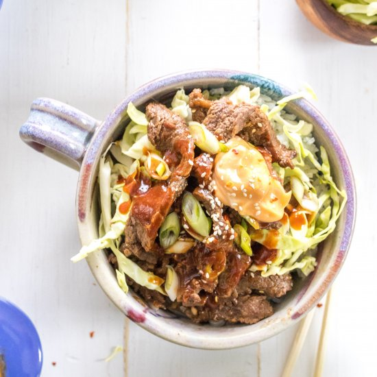 Healthy gallery foodgawker easy korean beef bulgogi bowl forumfinder Image collections