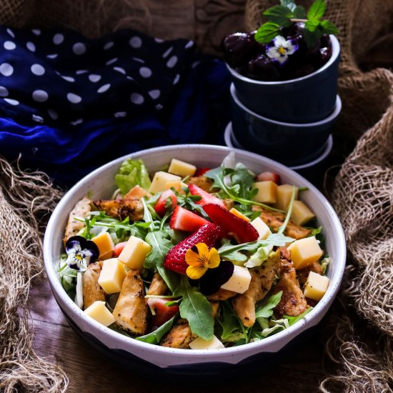 Foodgawker feed your eyes page 9 strawberry chicken gouda salad forumfinder Images