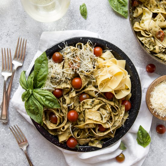 Recipes gallery foodgawker email pesto pappardelle forumfinder Images